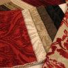Polyester 100% de flocage mou superbe de tissu de Terry pour des couvertures de sofa