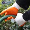 Nmsafety Дешевые оранжевый нитрил покрытием Рука работы перчатка