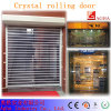 Puerta cristalina del balanceo, puerta rápida, puerta del balanceo, puerta de alta velocidad, puerta del salón de muestras