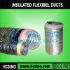 Gaine souple isolée en aluminium, gaine souple acoustique (alu-IND)