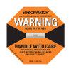 Indicador anaranjado del daño 75g del Shockwatch L-35