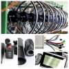 Het behendige Systeem van PAS 350W paste de Elektrische Uitrusting van de Omzetting van de Fiets met Batterij Ebike aan