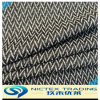 Tweed de lana tejido mezcla viscosa