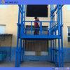 elevatore di trasporto esterno idraulico fissato al muro 10ton