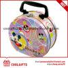 Karikatur gedruckter Inner-Form-Metallmittagessen-Behälter-Zinn-Kasten für Geschenk