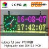 Productos de la pista de la puerta de pantalla del balanceo del Outdoorfull-Color de la visualización de LED de la pantalla de la alta calidad P10 12.6  X38  en la venta para cualquie lenguaje
