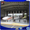 Hangar prefabricado del aeroplano de la estructura de acero