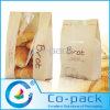 Sac de papier imprimé adapté aux besoins du client avec la fenêtre pour le pain