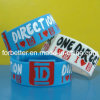 Wristbands in serie del silicone dei Wristbands/del silicone del silicone riempiti colore largo freddo Wristband/Meaningful