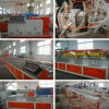PE/PVC madera máquina extrusora de plástico con CE y ISO