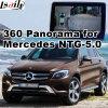 Hintere Ansicht-u. des Panorama-360 Schnittstelle für MERCEDES-BENZ mit Ntg-5.0 Audio20 Signaleingang-Form-Bildschirm des Befehls-Systems-Lvds RGB