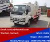 Isuzu 600p 4X2 LHD 3m3の真空のクリーニングの通りの道掃除人のトラック