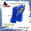 쇠가죽 쪼개지는 가죽 산업 손 안전 용접 일 장갑