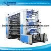 8 colores de la correa de la máquina de alta velocidad de control de impresión flexográfica