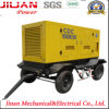 генератор электричества 150kVA 120kw тепловозный с передвижной вагонеткой