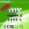 Preiswerteste 4 Kanal H. 264 Kamera-Installationssätze PLC-NVR u. IP