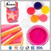 Fabricante do pigmento de néon fluorescente da cor