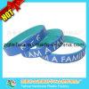 Wristband Epoxy da borracha de silicone da placa com Thb-060