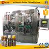 Machine de remplissage de café de bouteille en verre