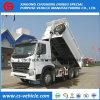 Sinotruk HOWO 6*4 30ton Caminhão Basculante caminhão de caixa basculante