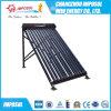 20 Tubes CPC collecteur solaire thermique avec conduit de chaleur