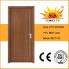 Porta de PVC de painel de MDF simples econômico para interior da casa (SC-P131)