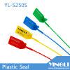 Selo de plástico ajustável apertado com número de série e logotipo (YL-S250S)