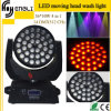 36 * 10W luz al aire libre 4in1 RGBW LED Moving Wall Washer