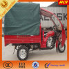 ABS Canopy & Doubel Light Motocicleta de carga abierta