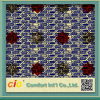 Ankara Londra Wax Fabric con Sequin Cotton Fabric Printing