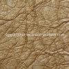Grain de relief populaire du cuir d'unité centrale de sofa (QDL-52031)
