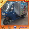 Poular Beverage Enclosed Cabin Box Tricycle in Africa
