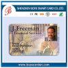 Cartão da identificação para o cartão nacional