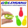 Forme de lapin mignon Support de sac de thé en silicone