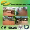 防水WPCの屋外の床木製のプラスチックFloorig