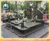 Het Groene Graniet Opgepoetste Gedenkteken Kerbed van de kwaliteit