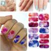 Модный цветастый стикер ногтя стикера искусствоа ногтя переноса воды