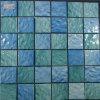 Mosaico blu delle mattonelle di mosaico per la piscina