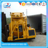 Misturador concreto autoflutuante portátil de Hydraul com motor Diesel