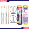 Erwachsene Zahnbürste mit super elastischen weichen Borsten 2 in 1 Wirtschaft-Satz 823