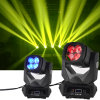 LED super 4*25W DJ équipement Déplacement de feu de route de la tête