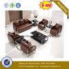 Sofà di cuoio moderno di svago delle 7 sedi per il salone (HX-CS056)