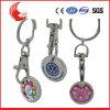 Moneda Keychain de la carretilla de la aleación del cinc del metal la última