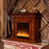 暖房(335)が付いている現代簡単なホテルの家具の電気暖炉