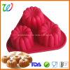 Фабрика продавая Non-Stick прессформу шипучки силикона но торта Luli