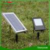 Indicatore luminoso di inondazione alimentato solare del sensore chiaro esterno del giardino 15W 120 LED