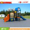 Le matériel extérieur de cour de jeu du modèle 2016 neuf badine les glissières (HD16-008D)