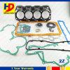 Reeks van de Pakking van de Uitrusting van de Pakking van de Dieselmotor van de vorkheftruck 7f 2z de Volledige Volledige