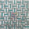 Mosaico cristalino verde del mosaico Tile/Metal (CFA33)