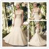 Спагеттио отбортовывает платье венчания Mermaid сатинировки (XZ662)